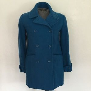 Cold watercreek women's pea coat
